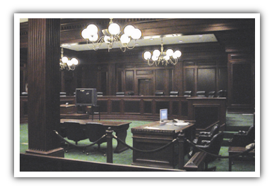 Courtroom Lighting - Fentress Incorporated