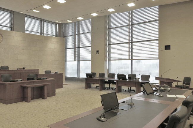 Natural Light Iowa Courthouse - Fentress Inc.