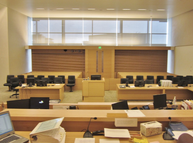 Natural Light Southern California Courtroom - Fentress inc.