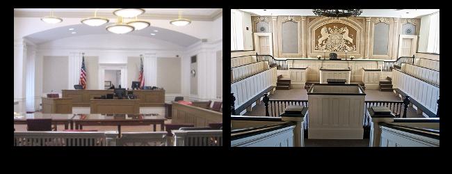 American Courtroom Design Comparison - Fentress Inc.