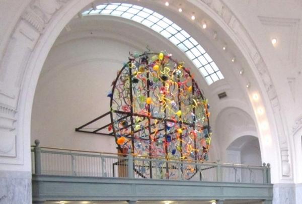 Courthouse artwork