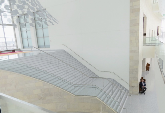 courthouse lobby stairs
