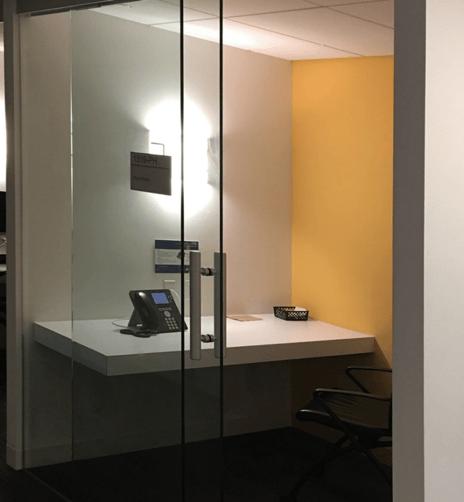 getaway room for an open office