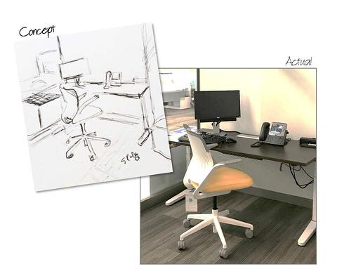 Low Cost Office Makeovers Redesign On A Dime