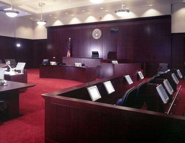 Formal Courtroom