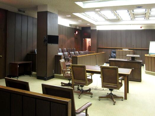 Jury Box Sightline Obstruction