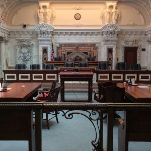 Courtroom at 9th Circuit Headquarters