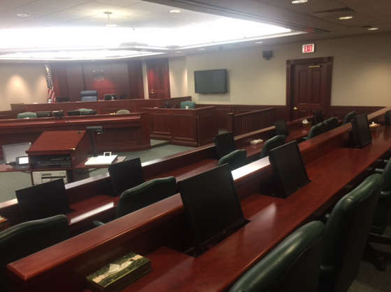 eps equipment courtroom