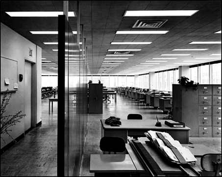 Lever house open office