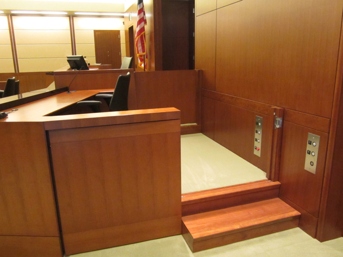 Witness Stand Lift