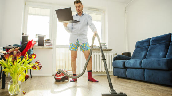 Looming Housework and Other Telework Challenges
